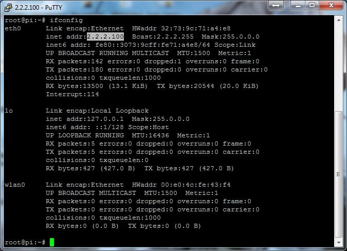 IP static eth0 debian